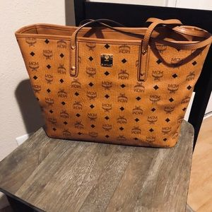 Authentic Mcm Tote and Pouch
